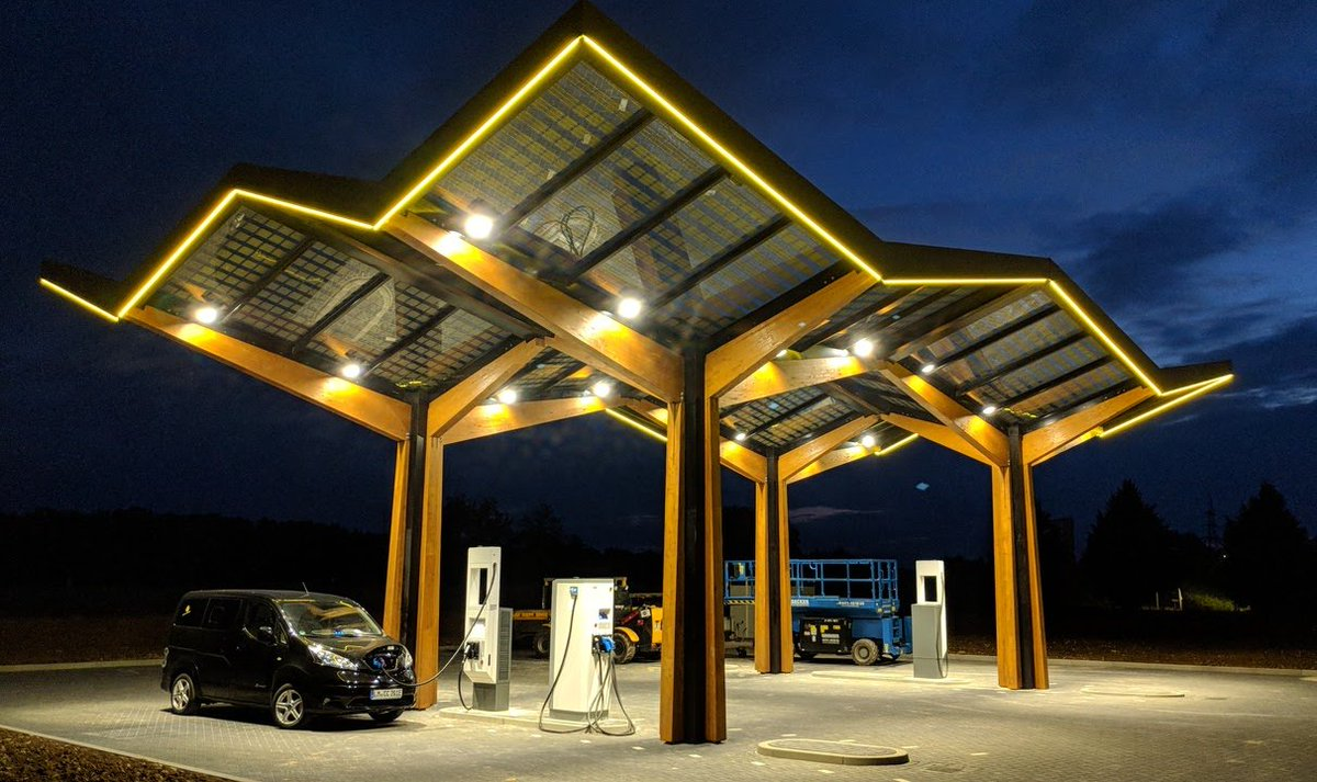 Charging infrastructure required to get to 100% electric ...